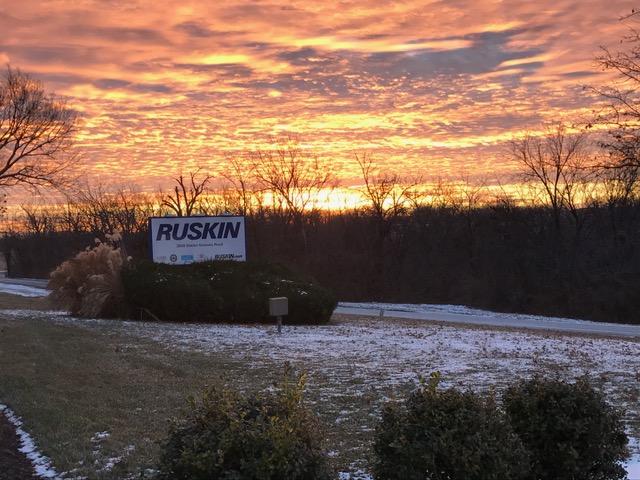 Early morning sunrise inMissouri