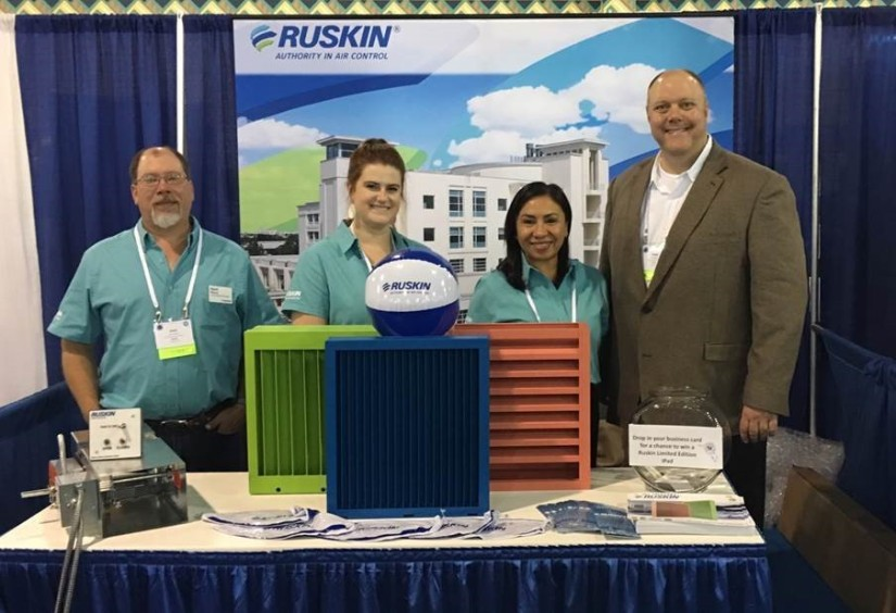 Ruskin® Attends Florida Healthcare Engineering Association Trade Show