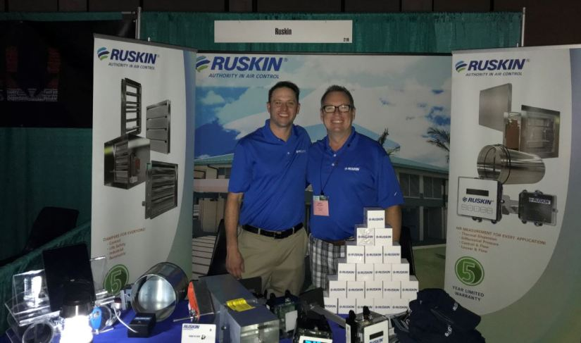Aloha from Ruskin at SMACNA's Annual Convention in Hawaii