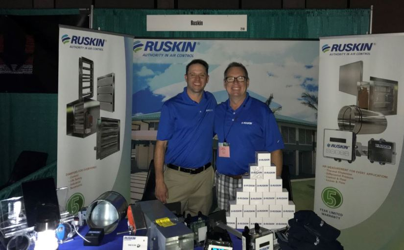 Aloha from Ruskin at SMACNA's Annual Convention inHawaii