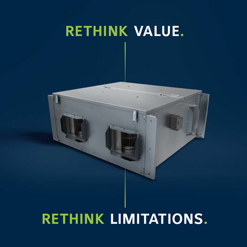 Two New MiniCore Energy Recovery Ventilators (ERVs) Offer Energy Savings and ImprovedIAQ