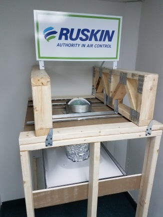 Ruskin Wood Truss top view